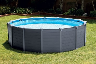 Piscine ronde tubulaire INTEX