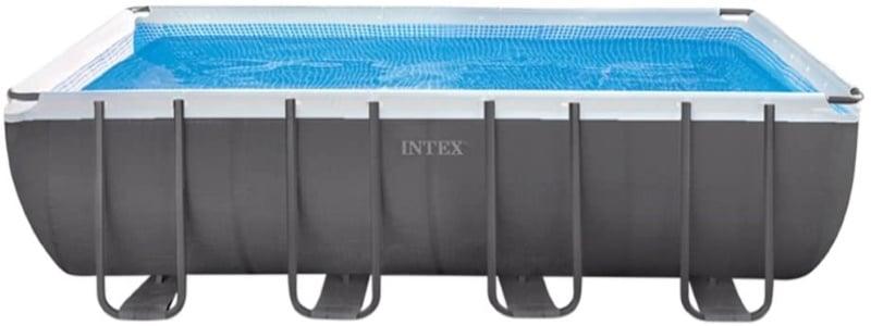 Piscine tubulaire grande taille avec filtre à sable, pompe de filtration, échelle, tapis, et vannes, de marque INTEX Ultra Silver 549 x 274 top6