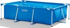 Piscine hors sol tubulaire rectangulaire de 300 x 200 cm, bain enfants, famille et amis, sans accessoires, de marque INTEX Metal Frame top6