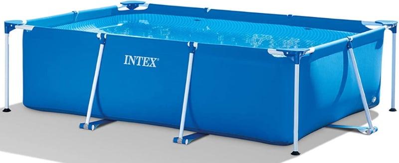 Piscine tubulaire rectangulaire idéal pour baignades en famille ou entre amis, 3m x 2m sans accessoires, marque INTEX Metal Frame top6