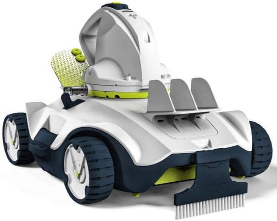 Robot piscine électrique KOKIDO Manga sans fil pour nettoyer fond électricité batterie lithium ion et filtre facile à nettoyer top4